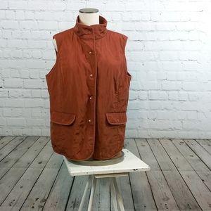Talbots Vest size x (XL)